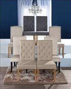 Sit in style with our Antionette Chairs #dining #Downton