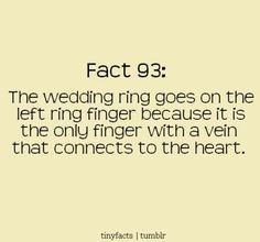 Interesting fact! Love and marriage!
