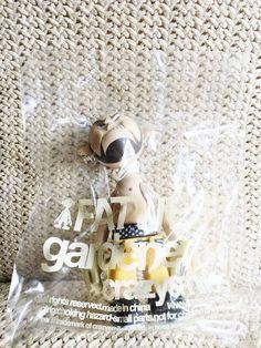 Michael Lau crazysmile gardener 010 FAT WEST 16cm Urban Vinyl Figure Tray #crazysmile