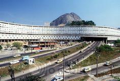 Conjunto Residencial Marquês de São Vicente, 1952, Rio de Janeiro, Brazil  designed by Affonso Eduardo Reidy (1909 – 1964)