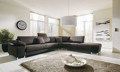 CHANAC - Stijlvolle, comfortabele salon met ofwel houten ofwel metalen poten. Beschikbaar in meerdere composities | Meubelen Crack