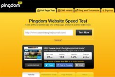 Pingdom - Website page speed and page load time online testing tool. Analysis includes score, report details, and fix recommendations. http://pingdom.com #loadtime #pagespeed #performance #analytics