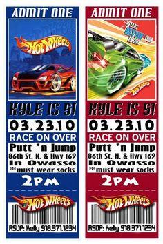 Hot wheels invite for Andrews birthday Hot Wheels Birthday, Race Car Birthday, Race Car Party, Cars Birthday Parties, Birthday Fun, Birthday Ideas, Festa Hot Wheels, Hot Wheels Party, Auto Racing