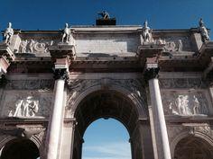 Arco do Triunfo Carrossel - Paris - Foto: Arquiteta Cláudia F. Ferreira