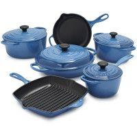 Cooking | Cookware Sets | Sur La Table $999.95 http://www.surlatable.com/product/PRO-1669340/Le+Creuset+Signature+Marseille+10-Piece+Set+