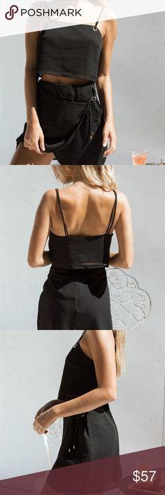44da21fda9b Sabo Skirt Evian Set - XS NWT Brand new cute little black set from Sabo  Skirt. Can do cheaper on Venmo or Depop.