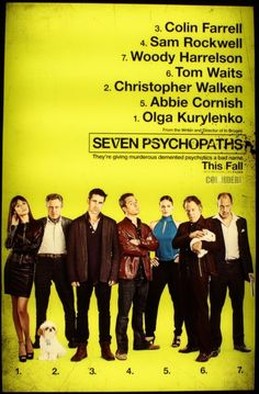 Check out Colin Farrell wearing the Vintage Shoe Company SULPHUR boot in the promotional poster for Seven Psychopaths.