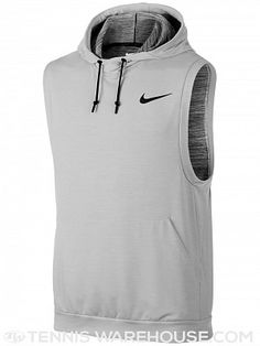 Nike Men's Dry Sleeveless Hoodie, Gray Athletic Outfits, Athletic Wear, Athletic Tank Tops, Nike Outfits, Sport Outfits, Sleeveless Hoodie, Moda Fitness, Gym Wear, Courses