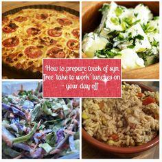 Sugar Pink Food: Recipe: Prepare a week of Syn Free 'take to work' ...