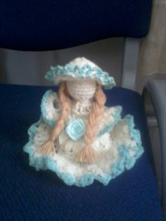 Crochet lady