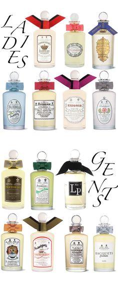 Im crazy over Penhaligon's! Perfume Jpop, Edible Favors, Top Perfumes, Cosmetic Design, Cosmetics & Perfume, Perfume Collection, Vintage Labels, Smell Good, Perfume Bottles