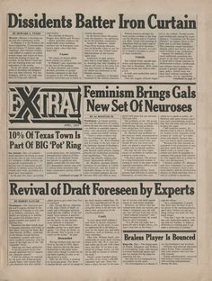 Extra!, April, 1977, Publisher: Ralph Ginzburg, Design Director: Herb Lubalin