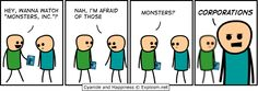 This is the best Cyanide and Happiness comic ever.
