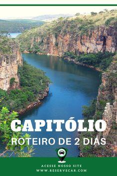 Capitólio - Brasil - Veja um roteiro de 2 dias para curtir um final de semana no capitólio, MG.