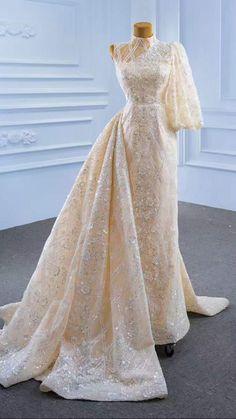 Wedding Dress With Pockets, Wedding Dress Sleeves, Dresses With Sleeves, Bridal Dresses, Wedding Gowns, Bridal Hijab, Party Dresses, Formal Dresses, Minimalist Wedding Dresses