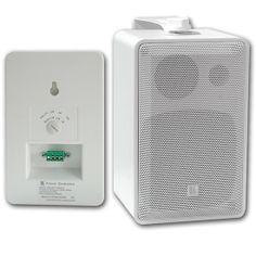 Enceinte hifi avec transfo ligne 100V pour sonorisation de la marque Kramer et de modèle SPK-W411W, puissance 20W rms & 60W en continu, Haut-parleur de graves 10 cm, Tweeter à dôme 25 mm. Enceinte sono livrée avec étrier de fixation. Dispo en 2 versions !
