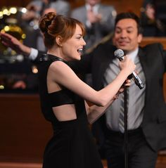 Emma Stone Visits 'The Tonight Show Starring Jimmy Fallon'