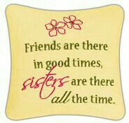 Sisters Pillow - online fibro sister, seems to be always there, I can't thank you enough! Sister Poems, Sister Friends, Sister Quotes, Family Quotes, Love Quotes, Great Quotes, Sister Cards, 4 Sisters, Sisters Forever