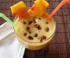 Batido de avena, frutas y yogur: el desayunazo - Recetín