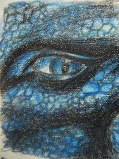 Saphira Dragon Eye by SilverTwilight2@deviantART