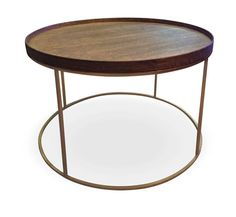 Product - Products - Round Tray Coffee Tables With A Wire Brushed Oak Veneer with Charcoal Monocoat - Leonardo Design South African Design, Round Tray, Wire Brushes, Urban Design, Coffee Tables, Charcoal, Furniture, Home Decor, Products