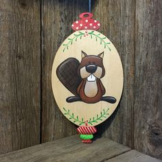 A personal favorite from my Etsy shop https://www.etsy.com/listing/474272652/christmas-ornament-2016-woodland