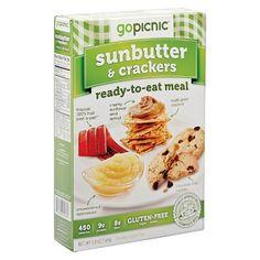 Go Picnic Sunbutter & Crackers 3.6 oz : Target
