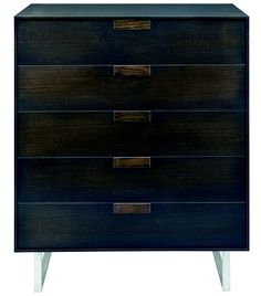 Blu Dot - Series 11 5 Drawer Dresser    what a gorgeous stain