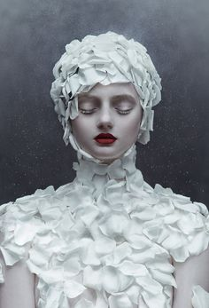 Winter's Rose, 2013 - Motherland Chronicles shot by Zhang Jingna