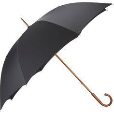 Barneys New York Men's Doorman Stick Umbrella (3.980 RUB) ❤ liked on Polyvore featuring men's fashion, men's accessories, men's umbrellas, colorless and mens umbrella