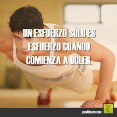Esfuérzate cada día #effort #esfuerzo #motivacion #frases #fitness #motivation #quotes #guiafitness #