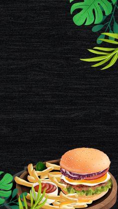 Food Graphic Design, Food Menu Design, Food Poster Design, Graphic Design Projects, Burger Menu, Gourmet Burgers, Burger And Fries, Crispy Chicken Burgers, Fast Food Menu