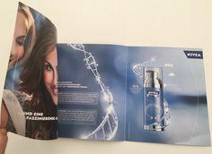 Kosmetik-Produkte in besonderer Form in Printprodukten. So muss es sein.Es geht um Sehen, Fühlen und Riechen...