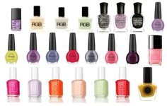 Spring 2012 Must-Have Colors.