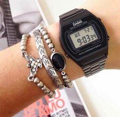 Relógio Casio - preto
