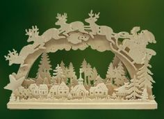 Santa arch