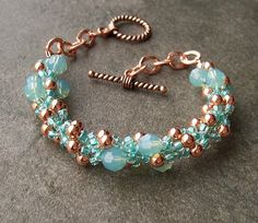 Copper Spiral Rope Bracelet | Flickr - Photo Sharing!
