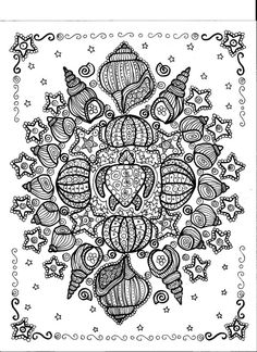 Instant Download Turtle Shell Mandala You Be The Artist Meditation Art Zen Mandalas