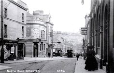 old photo of North Road