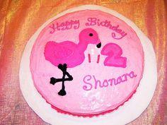 Shonara's Pink Flamingo Birthday Cake - Yep I made it Pink Flamingo Party, Flamingo Cake, Flamingo Birthday, Pink Flamingos, 4th Birthday Parties, Birthday Cake, Birthday Ideas, Family Traditions, Cake Decorating