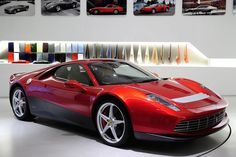 Ferrari SP12 EC - The one-off Ferrari by Eric Clapton