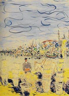 Fikret Mualla Jacques Callot, Service Secret, Painter Artist, Bernard Shaw, Turkish Art, Fauvism, Expositions, Paris Street, Art Boards