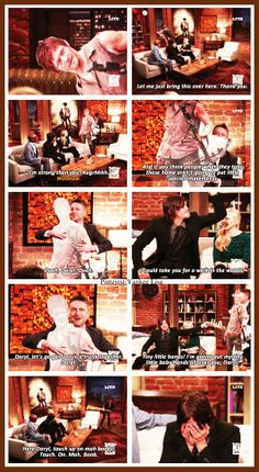 The Walking Dead - Norman Reedus - Daryl Dixon and Chris Hardwick - Talking Dead