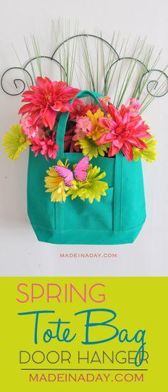 Spring Floral Tote B