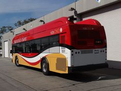 Long Beach Transit 1201 Gillig CNG Prototype at South Yard in Long Beach, California. by munidave, via Flickr