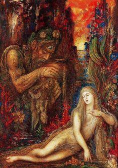 Gustave Moreau; Galatea, 1896