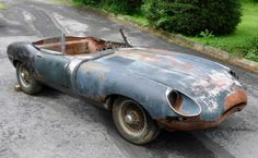1968 Jaguar E-Type OTS Basketcase