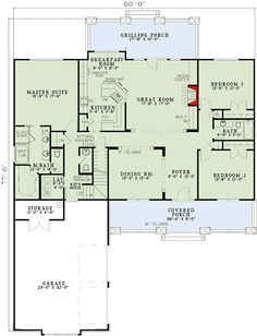 Charming Craftsman Columns - 59379ND | Architectural Designs - House Plans