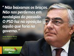 José Matos Rosa, Secretário-Geral do Partido Social Democrata na Tomada de Posse do PSD Arouca. #PSD #acimadetudoportugal