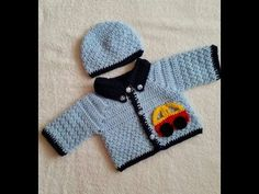 Handmade Crochet Baby SWEATER Designs for Winter